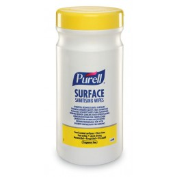 PURELL SURFACE SANITISING WIPES (TUB) CASE/6