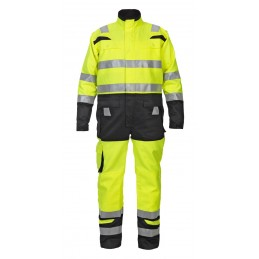 HOVE HIGH VISIBILITY TWO TONE COVERALL