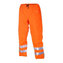 URBACH SNS HIGH VISIBILITY WATERPROOF QUILTED TROUSER