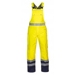 UTTING SNS HIGH VISIBILITY WATERPROOF BIB & BRACE