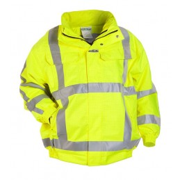 MOERS MULTI SNS FLAME RETARDANT ANTI-STATIC HIGH VISIBILITY WATERPROOF PILOT JACKET