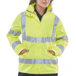 LADIES EXECUTIVE HI-VIZ JACKET