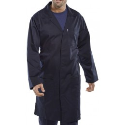 POLY COTTON WAREHOUSE COAT