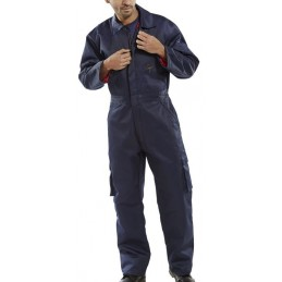 CLICK QUILTED BOILERSUIT