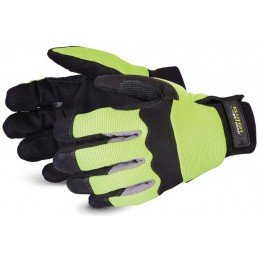 CLUTCH GEAR® HI-VIZ MECHANICS GLOVE WITH PUNKBAN
