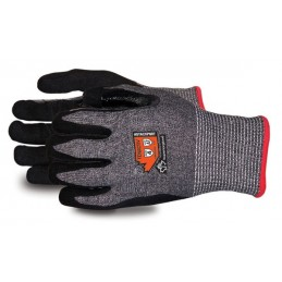 TENACTIV CUT RESISTANT GLOVE WITH MICROPORE NITRILE GRIP