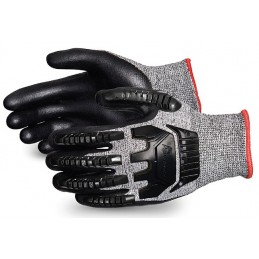 TENACTIV CUT-RESISTANT COMPOSITE KNIT GLOVE WITH FOAM NITRILE PALMS