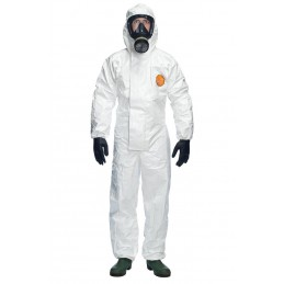 TYCHEM 4000S CHZ5 HOODED COVERALL