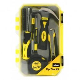 Rolson 16pc Tool Kit