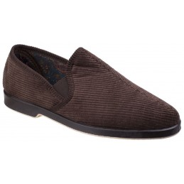 Mens Twin Gusset Slipper