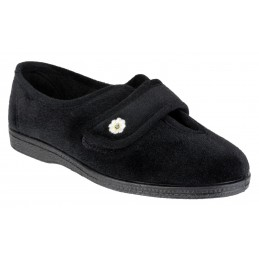 Andrea Touch Fastening Slipper