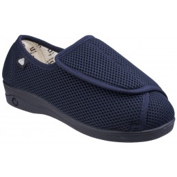 300 Touch Fastening Slipper Wide Fit