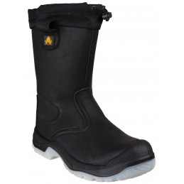 FS209 Water Resistant Pull On Safety Rigger Boot
