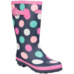 Dotty Jnr Pull On Wellington Boot