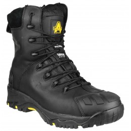 FS999 Hi Leg Composite Safety Boot With Side Zip