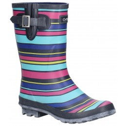 Paxford Elasticated Mid Calf Wellington Boot