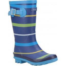 Stripe Wellington Boot