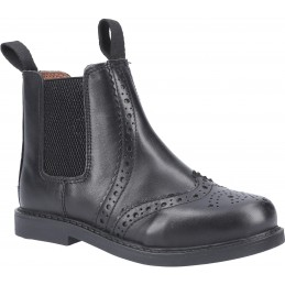 Nympsfield Kids Brogue Pull On Chelsea Boots