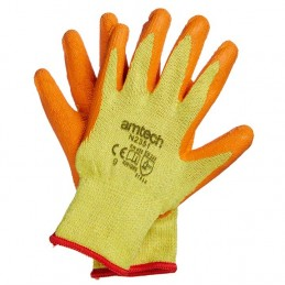 Latex Palm Coated Gloves Large (Size: 9)