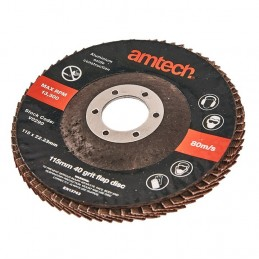 115mm Flap Disc (40 Grit)