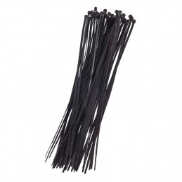 40pc (3.6 X 300mm) Cable Tie - Black