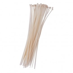 40pc (3.6 X 300mm) Cable Tie - White