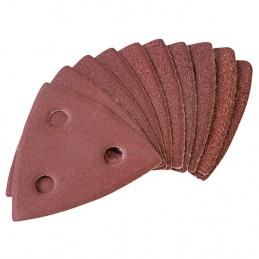 10pc Aluminium Oxide Assorted Sanding Sheets  (With Dust Extraction)