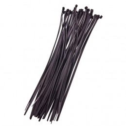 40pc (4.8 X 380mm) Cable Tie - Black