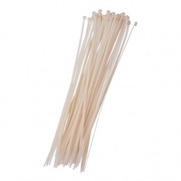 40pc (4.8 X 380mm) Cable Tie - White