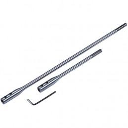 3pc Flat Wood Bit Extension Bar Set
