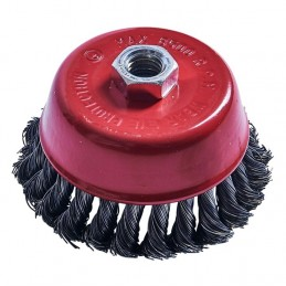 "4"" (100mm) Twist Knot Wire Cup Brush"