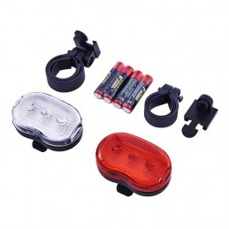 2pc Bicycle Flash Light Set