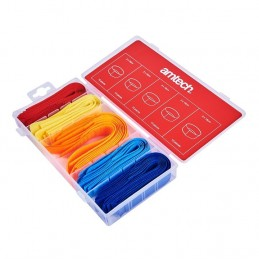 50pc Cable Tidy Assortment