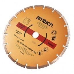 230 X 2.4mm Segmented Diamond Cutting Disc