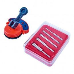 Diamond Tile Core Drill Kit & Vacuum Base Drill Guide