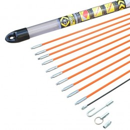 Mighty Rod 10m Cable Rod Set