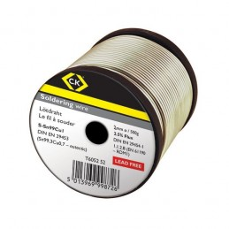 Soldering wire 2mm x 500g Reel