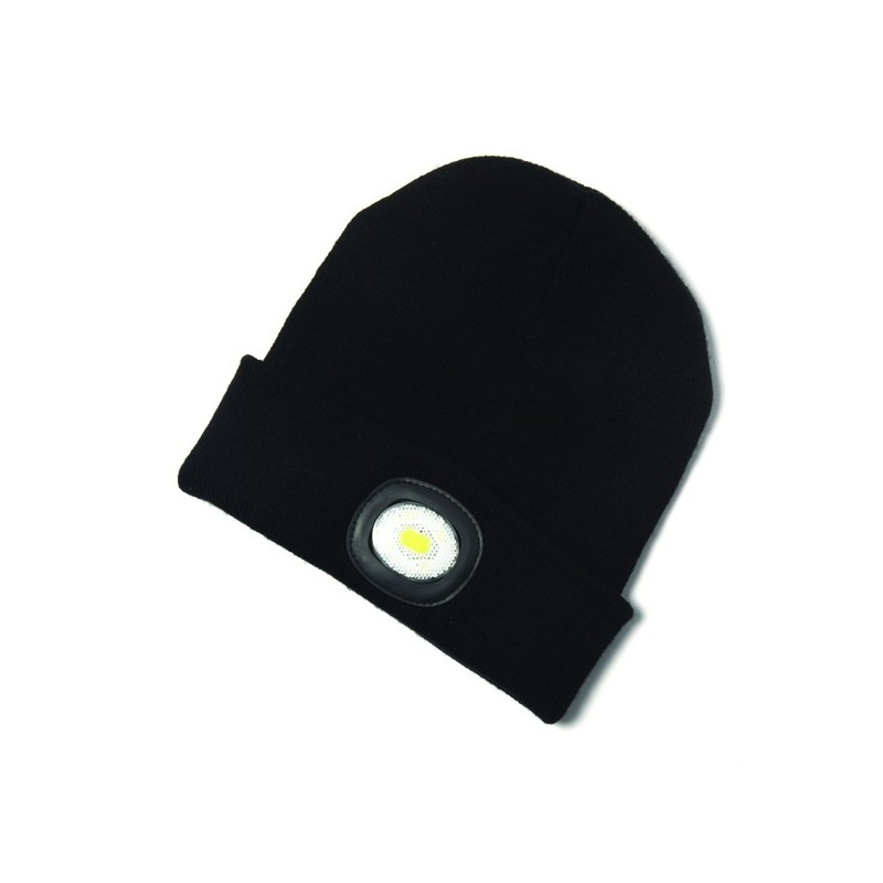 Beanie Hat & Head Torch 80 Lumens