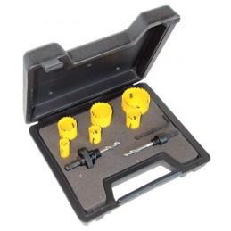 Hole Saw Kit 9 Pcs Electrician