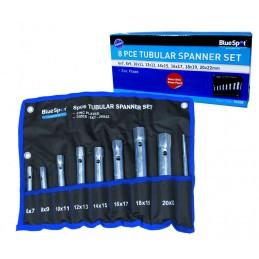 BlueSpot 8 PCE Tubular Spanner Set (6-22mm)