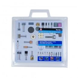BlueSpot 138 PCE Rotary Tool Accessory Set