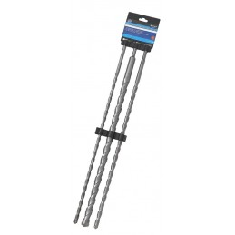 BlueSpot 3 PCE 600mm SDS Plus Drill Bit Set (12, 16, 24mm)