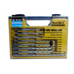 BlueSpot 8 PCE SDS Plus Drill Bit Set (5-12mm)