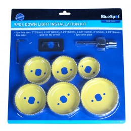 BlueSpot 9 PCE Downlight Installation Kit (51 - 86mm)