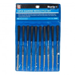 "BlueSpot 10 PCE 145mm (5"") Assorted Diamond File Set"