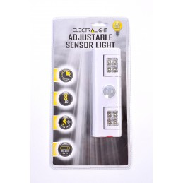 Electralight Adjustable Sensor Light With Batteries