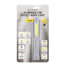 Electralight Aluminium COB Pocket Work Light (375/150 Lumens)
