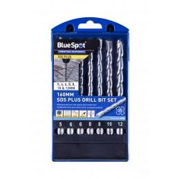 BlueSpot 7 PCE 160mm SDS Plus Drill Bit Set (5-12mm)