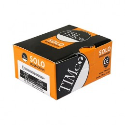 Timco Solo Woodscrews - PZ - Double Countersunk - Yellow - 6.0 x 100 - Box of 100