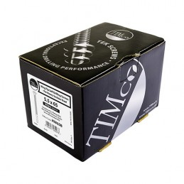 Timco Wing-Tip Self-Drilling Screws - Countersunk - PH - For Timber to Heavy Section Steel - Zinc - 5.5 x 85 - Box of 100